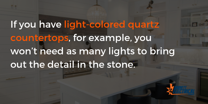 light-colored quartz countertops